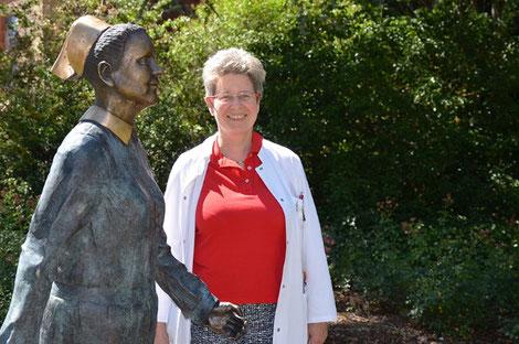 Dr. Brigitte Jage, Leiterin des Palliativdienstes am Diakonie Krankenhaus Bad Kreuznach