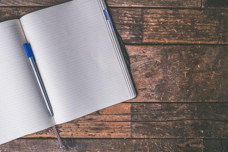 Good Life Gesundheit im Alltag: Journal schreiben ist hilfreich - Plane deine Woche und plane dir zuerst die Zeiten für dich.