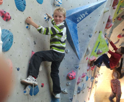 Klar macht Bouldern Spaß...!!!