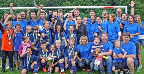 7.7.2012 - Sieg im Ebersberger  Landkreispokal 2012