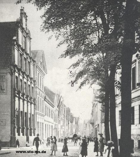 Die Aegidiistraße um 1900