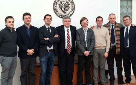 Ralc Italia, Advantech, Università di Udine