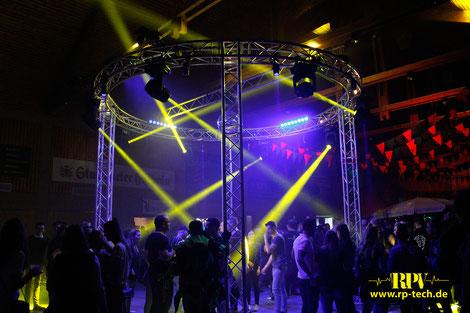 Veranstaltungstechnik, Tontechnik Lichttechnik Anlage Spiegelkugel DJ Festival Firmenfeier Herrenberg Nufringen Oberjesingen Böblingen Stuttgart