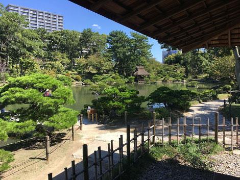 Shukkeien-Garten in Hiroshima