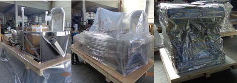 professioneller Korrosionsschutz durch die Verpackungsfirma Ottenbacher