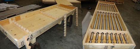 Dauerkisten - Kiste auf Maß mit passgenaue Einbauten
