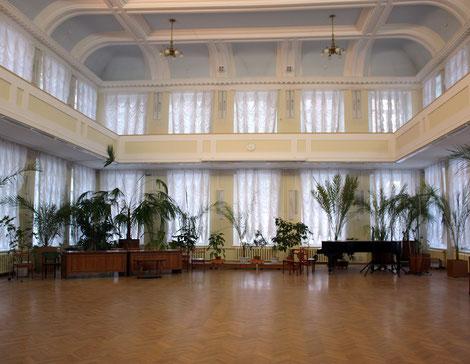 Bild: Saal der Städtischen Alexander-Herzen-Bibliothek
