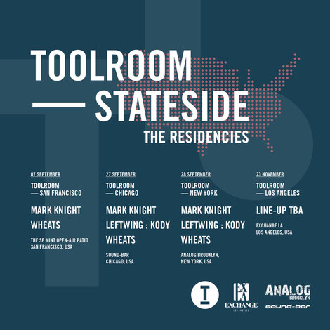 Toolroom Stateside