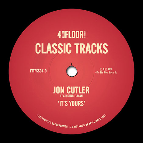 Jon Cutler Featuring E-Man