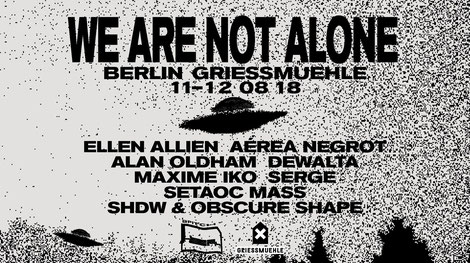 Ellen Allien | We Are Not Alone
