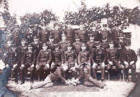 Foto: Mannschaft von 1914