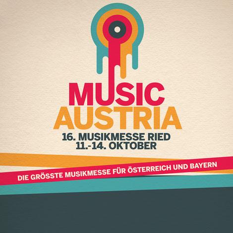 Karl Scherzer auf der Messe Music Austria 2018