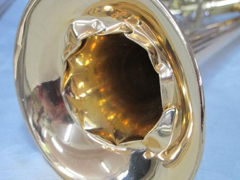Trompetenbecher - extrem gestaucht