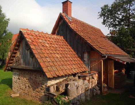 Unser traditionelles Backhaus