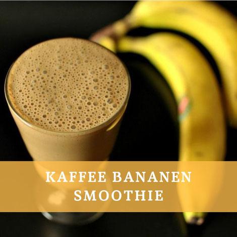 kaffee bananen smoothie vegan rezept