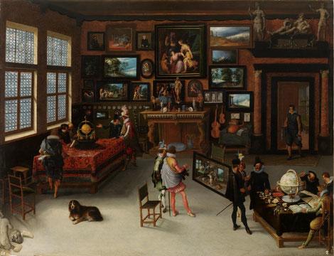 Las Ciencias y las Artes (Adriaen van Stalbent). © Museo del Prado