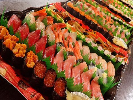 仕事納め 寿司 出前
