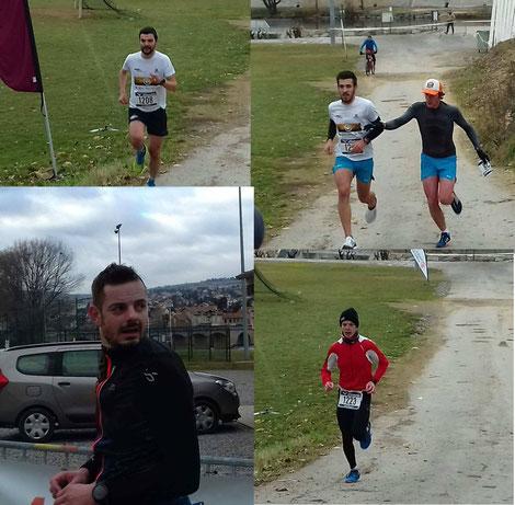 Szoldra Mathieu Dubocage Simon Ayral loic Prax Guilhem Millau Grands Causses Triathlon
