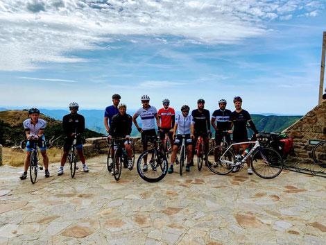 Millau grands causses triathlon - Mont Aigoual