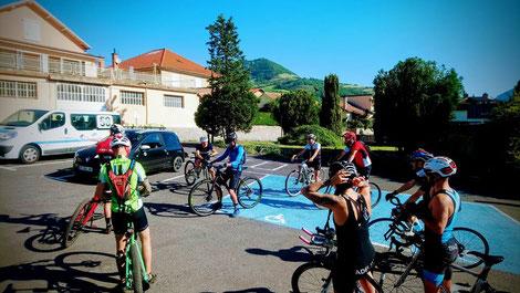 Millau Grands Causses Triathlon - Sortie club