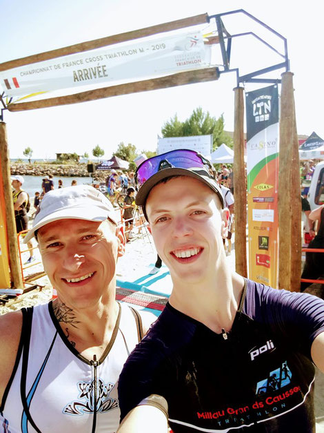 SZOLDRA Mathieu - FOURNIER Cyril - Cross triathlon de Bouzigues - Championnats de France
