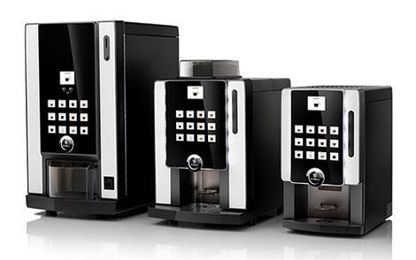 Kaffeevollautomaten mit Münzeinwurf, ohne Vertrag, ohne versteckte Kosten.