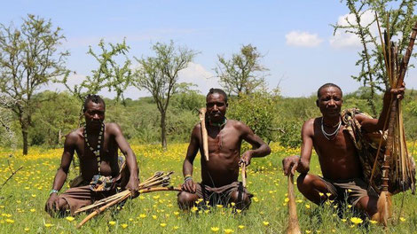 The Hadza: lean, healthy and strong. Its safe to say they didn't get this way gorging themselves on large tubs of Ben and Jerry's chocolate chip cookie dough!