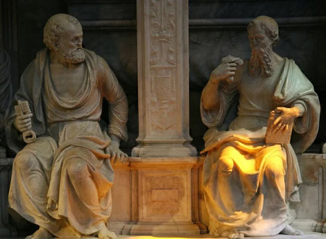 Socrates and Plato - strong and wise