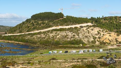 Praia do Boca do Rio - vom Forte de Almádena gesehen