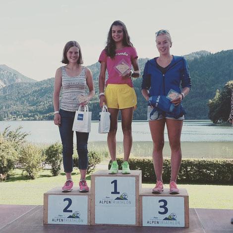 Erste in der Altersklasse - Alpentriathlon 2017