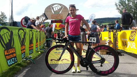 Mein neues Rad von Airstreeem.com und der Bike Base Schliersee.
