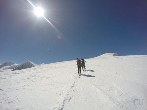 Der Gletscheranstieg vorbei am Kleinvenediger zum großen Bruder