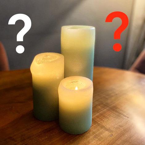 Kerzen und Nachhaltigkeit - Oft passt dies nicht zusammen