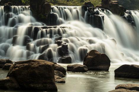 Giang Dien waterfalls Vietnam
