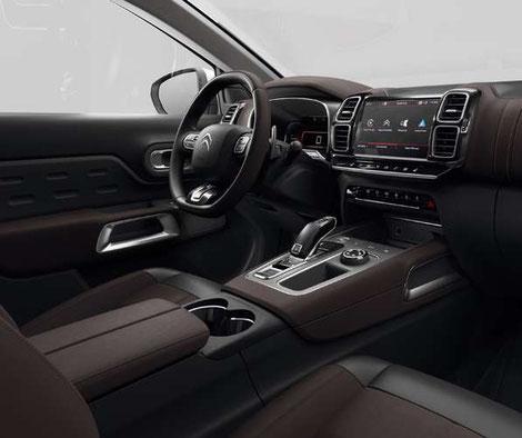 Edel - Der Innenraum des neuen Citroën C5 Aircross