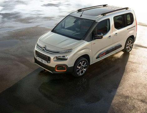 Personalisierung ohne Grenzen - der neue Citroën Berlingo bei Autohaus Vallorani in Ebersberg bei München