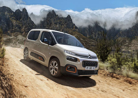 Immer top motorisiert - der neue Citroën Berlingo