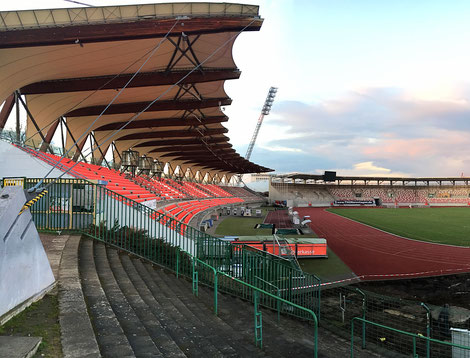 Westtribüne Steigerwaldstadion Erfurt