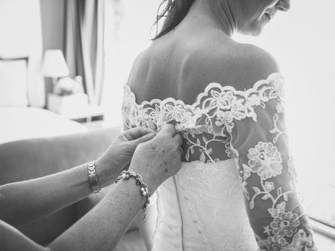 Hochzeitsfotograf Brautvorbereitung