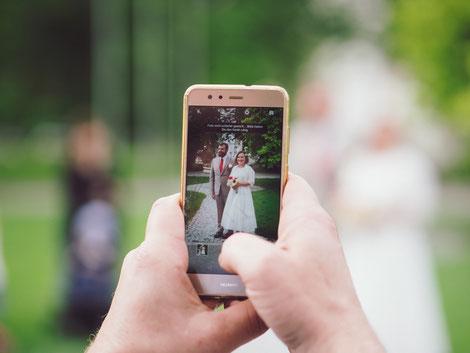 Hochzeitsfotos - mal anders