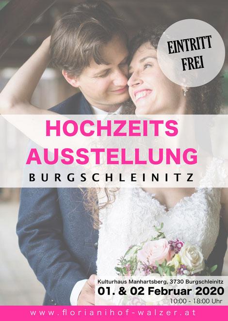 Hochzeitsausstellung Burgschleinitz