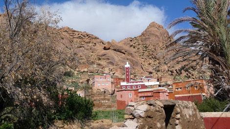 Le Village de Adaï près de Tafraoute