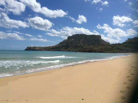 Agathi Beach oder Golden Beach