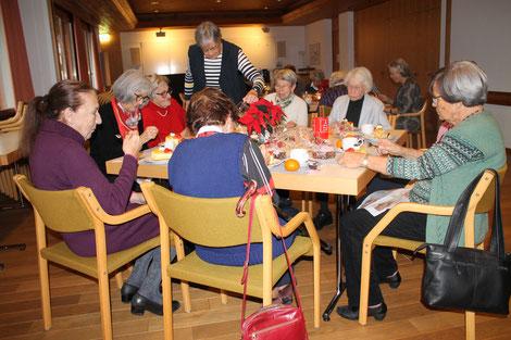 GV Frauenverein Uitikon, Generalversammlung FVU