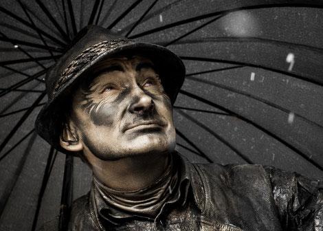 """Foto: Wolfgang Volz """"Schneetreiben"""""""