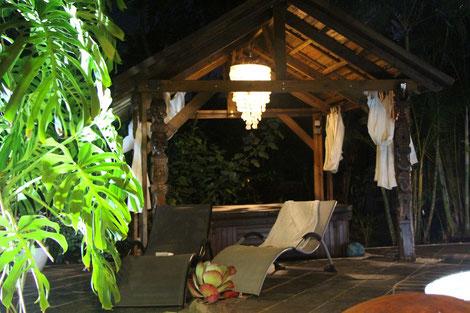 vue du kiosque du bunglow ylang