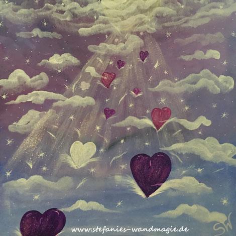 Herzbild Herzensenergie Herzensbild Energie Reise Kunst Künstlerin Leinwand Farben Ammersee Stefanie Will Kreativität Spiritualität Herz Liebe Herzensliebe