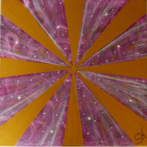 Ammersee München Acrylbild selbstgemalt Leimwand Energiebild Kunst Acryl Künstlerin Stefanie Will Stefanies Wandmagie Spiritualität Bewusstsein