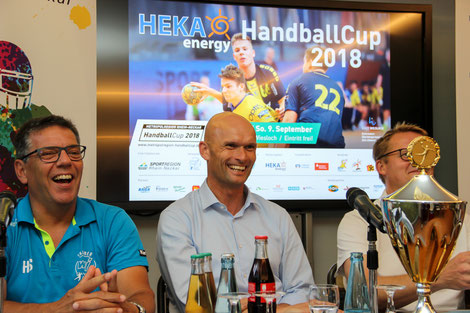 Freuen sich auf die dritte Auflage in Wiesloch: Harald Sauter und Dirk Elkemann.