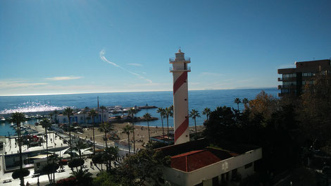 Leuchtturm in Marbella